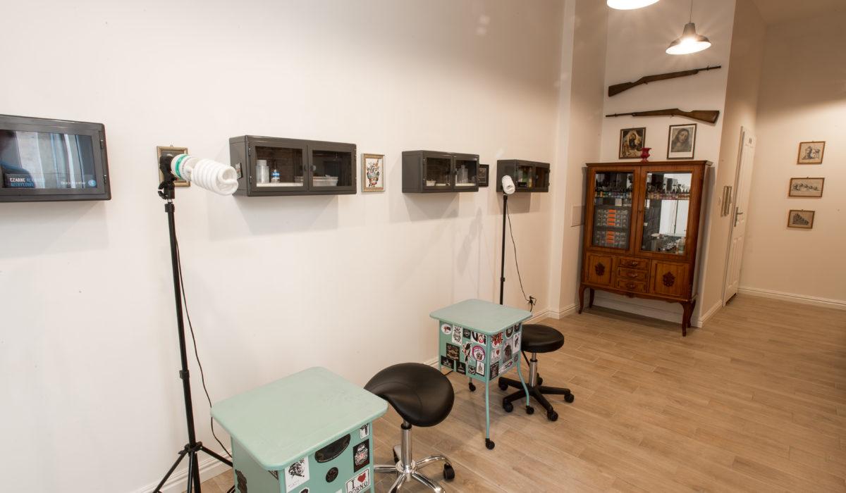 Studio tatuażu Warszawa Tamka 37
