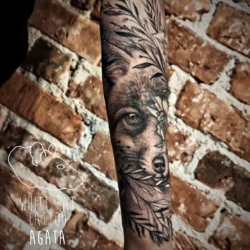Agata Kacperczyk Studio Tatuażu Warszawa White Rat Tattoo Tatuaż Lisa