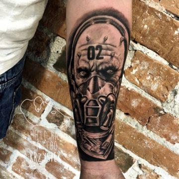Krzysztof Jakubowski Studio Tatuażu Warszawa White Rat Tattoo Tatuaż Bane