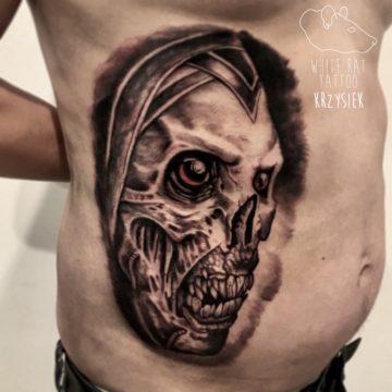 Krzysztof Jakubowski Studio Tatuażu Warszawa White Rat Tattoo Tatuaż Horror (2)