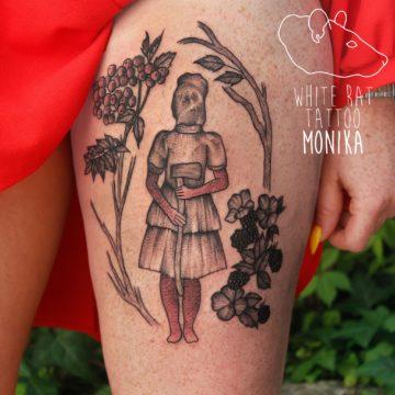 Monika Michniewicz Studio Tatuażu Warszawa White Rat Tattoo Tatuaż Horror
